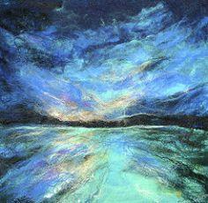 ATLANTIC BLUES (moymackay) Tags: art landscapes search artist gallery scottish award felt textile peebles mackay press kaffe borders winning moy fassett