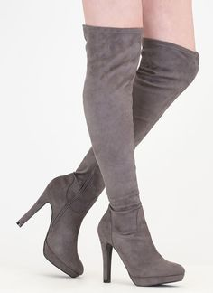 Thigh-High Boots, Lace Up Boots & More Women's Boots Thigh High Platform Boots, Thigh High Boots, High Heel Boots, Over The Knee Boots, Heeled Boots, High Heels, Sexy Boots, Lace Up Boots, Cute Shoes