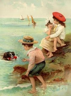 vintage seaside summer