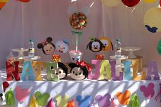 Tsum Tsum Birthday Party Ideas | Photo 7 of 57