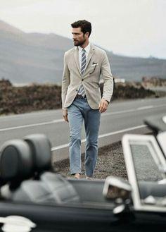 casual suit