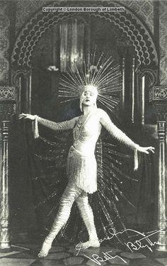 Betty Blythe, Brixton Palladium, Brixton Hill 1905