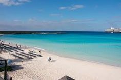 Half Moon Cay, Bahamas... SO beautiful! We were in this water last year......