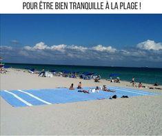 Pour être #bien #tranquille à la #plage ! #blagues #rire #drôle #drole