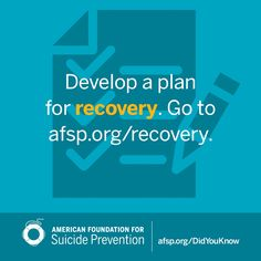 Mental Health Awareness - Suicide Prevention