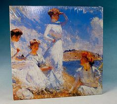 World map adult puzzles 2d puzzles shop us ravensburger summer by frank w benson fine art jigsaw puzzle 500 pc ebay gumiabroncs Gallery