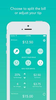 split bill |  calculate tip |  customized