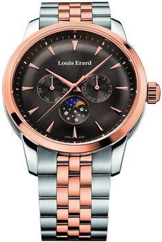 Men watches : Louis Erard Heritage Quartz Collection Men's watch 14910AB16.BMA40