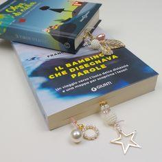 Bookmark gioiello utilizzati nei libri.