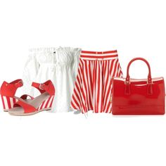 """candy stripes"" by tanya-misener on Polyvore"