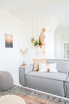 Hanging planters for Urban Jungle Bloggers | Binti Home blog : Interieurinspiratie, woonideeën en stylingtips