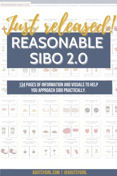 REASONABLE SIBO 2.0 with A Gutsy Girl agutsygirl.com #sibo #fodmap #guthealth #ibs High Fodmap Foods, Fodmap Diet, Girls Bible, What Happens If You, Natural Antibiotics, Learning To Trust, Fodmap Recipes, Adrenal Fatigue, Food Journal