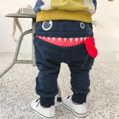 $19.99 Smiling Monster Baby Boy Pants, Full Length Cotton Pants #baby #cutebaby #babylove #babystyle #babys #babies #babyboy #babyboys #babygirl #babygirls #babyfasion #babyonlinestore #babybump #baby #babycloth #babyclothes #babyfashionista #babyshop #momtobe #momtobe2018 #babyswag #babystagram #mybaby #mybabyboy #mybabygirl #mylittleprincess #petitbaobao #welovepetitbaobao #babystyle #babyfashion #babyshower