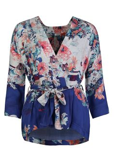 Short Stories - Early Flowers Kimono  620222 (SS16)