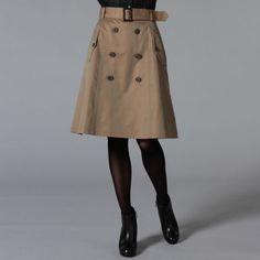 GUILD PRIME ギルドプライム|---ウィメンズ 全てのアイテム--- 【LOVELESS】WOMENS トレンチスカート|SANYO iStore/サンヨー・アイストア