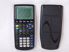 TI Texas Instruments TI-83 Plus Handheld Graphing Calculator & Cover TESTED WORK #TexasInstruments
