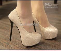 Wholesale Wedding Shoes - Buy 2012-4 Evening Party Glittering High Platfrom Stiletto Heels 2 Colors Women Fahsion Sexy Pumps, $37.36 | DHgate