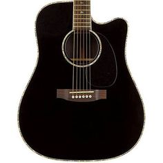 Buy Takamine EG341C Dreadnought Acoustic Electric Guitar Black at ZoZoMusic.com
