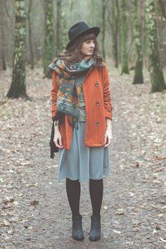 Maddinka - blog modowy : Moda na dużą zieloną - stylizacja i konkurs!