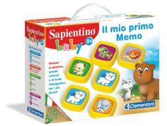 Clementoni - 12889 - Sapientino Baby Il Mio Primo Memo: Amazon.it: Giochi e giocattoli