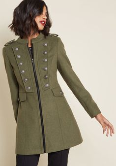 Timeless Edge Car Coat in 14 (UK) - Long Walker by Joe Brown from ModCloth Fall Outfits, Cute Outfits, Mode Hijab, Autumn Winter Fashion, Fashion Fall, Ideias Fashion, Womens Fashion, Fashion Trends, Stylish