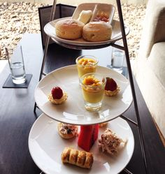 Executive Lounge at the Millennium Hilton Bangkok Hotel, Thailand Hotel Thailand, Bangkok Hotel, Hotel Breakfast, Continental Breakfast, Hotel Amenities, Hotel Lobby, Lounges, Afternoon Tea, Food