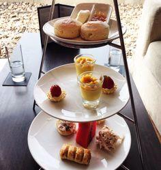 Executive Lounge at the Millennium Hilton Bangkok Hotel, Thailand Hotel Thailand, Bangkok Hotel, Lounges, Afternoon Tea, Food, Meals, Yemek, Sitting Rooms, Lounge
