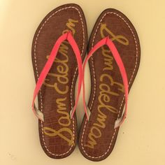 Sam Edelman Pink sandals New condition. Sam Edelman Shoes Sandals