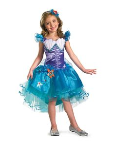 Disney Princess Girls' Ariel Tutu Costume