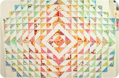 LOVE this quilt in progress by @Andria Olson! jenib