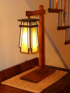 Arts and Craft Lamp