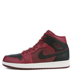 best sneakers 6d050 9c86b Jordan Air Jordan 1 Mid Team Red black summit White Jordan 1 Mid,