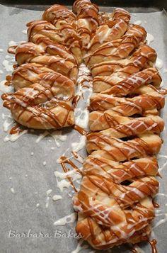 Art This Easy Dessert Recipe For Cinnamon Apple Candy Cane Kolache · Recipe Ideas