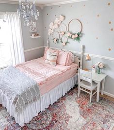 Kids Room Design Ideas For Girls 20 kid friendly spaces for work play. Check out rustic kids room design ideas that your kids will love. Pin On Home Decor Hgtv keeps your kids rooms p. Big Girl Bedrooms, Pink Bedrooms, Little Girl Rooms, Girls Bedroom, Bedroom Decor, Girls Room Wall Decor, Teenage Bedrooms, White Bedroom, Cute Bedroom Ideas