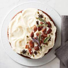 Applesauce Cake with Bourbon Raisins | Williams Sonoma Round Cake Pans, Round Cakes, Unsweetened Applesauce, New Cookbooks, Thanksgiving Menu, Cake Recipes, Dessert Recipes, Apple Desserts, Apple Recipes
