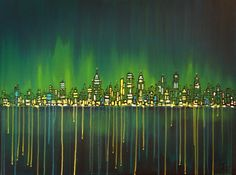 Cityscape painting     http://www.facebook.com/tonytajart