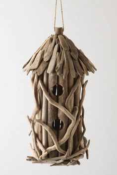 Natural bird house. This is great