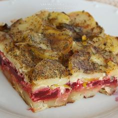 zapecene-brambory-s-repou Quiche, French Toast, Paleo, Vegetables, Cooking, Breakfast, Recipes, Food, Kitchen