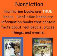 Nonfiction Smart notebook lesson - Elementary Library or ELA class Library Lesson Plans, Library Lessons, Library Ideas, Fiction Vs Nonfiction, Elementary Library, Kindergarten Literacy, Teaching, How To Plan, Notebook