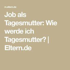 Job als Tagesmutter: Wie werde ich Tagesmutter? | Eltern.de