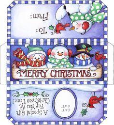 Christmas Wrapper Printable