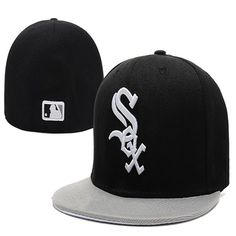 3cce8dcbe3b Wholesale Chicago White Sox Baseball Caps  Fitted Hats Fashion Hip Pop  Sox  Street Hats. Hats For SaleHats ...