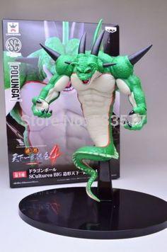 Japanese Anime DRAGONBALL Dragon Ball Z/Kai Original BANPRESTO SCultures Toys Action Figures 4 Polunga