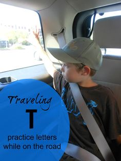 Letter of the Week Activities ~ Letter T ~ Traveling T.