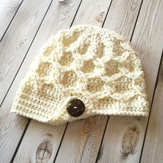 Ravelry: Chunky Chain Link Slouchy Newsboy pattern by Crochet by Jennifer