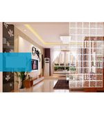 Buy Planet Decor White Acrylic Cross Lines Room Divider  Online: Shop from wide range of Screens