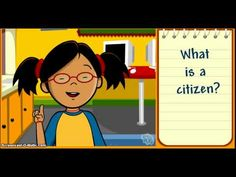Video---Characteristics of a Good Citizen. Rights vs Laws vs Responsibilities. 3rd Grade Social Studies, Kindergarten Social Studies, Social Studies Activities, Elementary Counseling, Teaching Social Studies, School Counselor, Social Studies Communities, Good Citizen, Study History