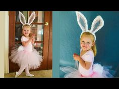 Cute Easter Bunny Costume! NO SEW Tutorial! - YouTube