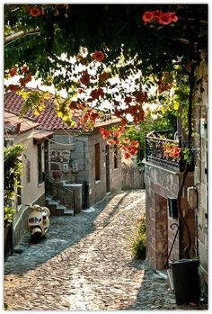 Molyvos, Lesbos Island, Greece
