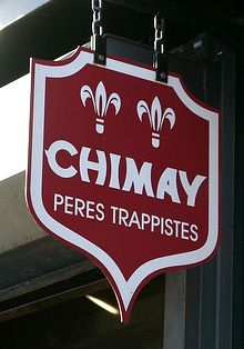 Chimay beer from Chimay, Belgium. Too far away to bike on our tours, but available nearly everywhere in the country.